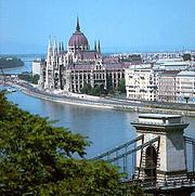 Будапешт, вигляд на Парламент