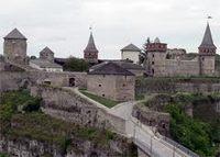 Старая крепость в Каменце-Подольском