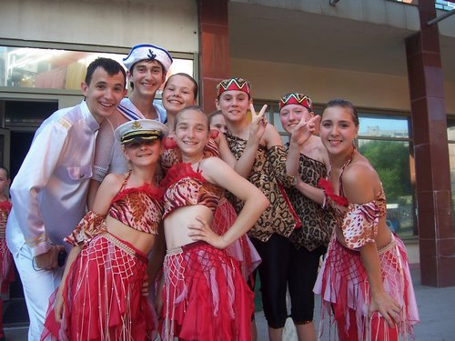 Танцевальний фестиваль в Запорожье