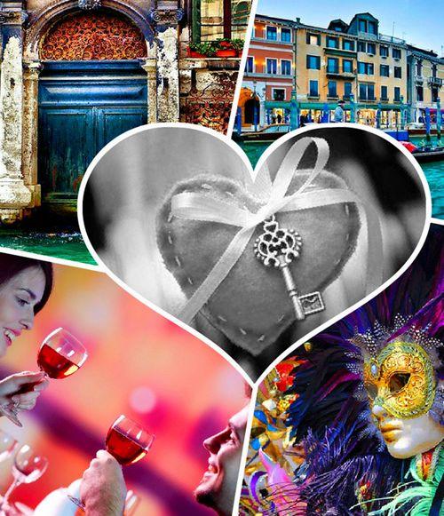 День св. Валентина на Венеціанському карнавалі