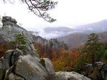 Яремче - Скелі Довбуша