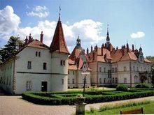 Чинадієво – замок графа Шенборна